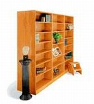 30in  H Wood Bookcase