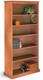 200 Series 72in H Wood Bookcase