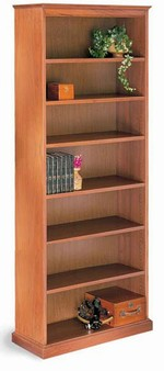 200 Series 84in H Wood Bookcase
