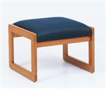Classic Series: 1 Seat Sled Base Bench - Healthcare Vinyl - C1001B3