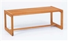 Classic Series: Coffee Table with Sled Base - C1480T3