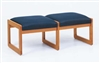 Classic Series: 2 Seat Sled Base Bench - C2001B3
