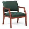 Franklin Series: 400 lb. Capacity Guest Chair - Healthcare Vinyl - D1751K5