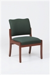 Franklin Series: Armless Guest Chair - Healthcare Vinyl - D1852K5