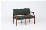 Franklin Series: 2 Seat Sofa - Healthcare Vinyl - D2851K5