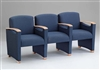 Somerset Series: 3 Seats with Center Arms - F3403G6