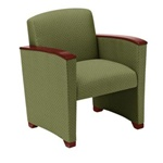 Savoy Series: Guest Chair - Healthcare Vinyl - G1401G4