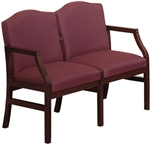 Hartford Series: 2 Seat Sofa - Healthcare Vinyl - H2101G5