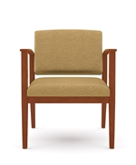Amherst Open Arm Series: 400 lb. Capacity Guest Chair - Healthcare Vinyl - K1601G5