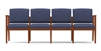 Amherst Open Arm Series: 4 Seat Sofa - Healthcare Vinyl - K4401G5