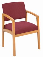 Lenox Open Arm Series: Guest Chair - Healthcare Vinyl - L1101G5