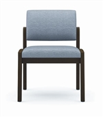 Lenox Panel Arm Series: Armless Guest Chair - L1132G6