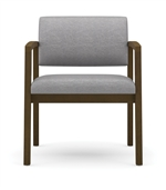 Lenox Open Arm Series: 400 lb. Capacity Guest Chair - Healthcare Vinyl - L1601G5
