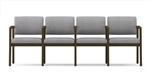 Lenox Open Arm Series: 4 Seats with Center Arms - L4103G5