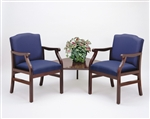 Madison Series: 2 Chairs with Connecting Corner Table - M2221G5
