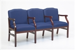 Madison Series: 3 Seats with Center Arms - M3203G5