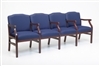 Madison Series: 4 Seats with Center Arms - M4203G5