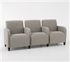 Siena Series: 3 Seat Sofa with Center Arms - Q3403G3