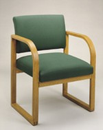 Contour Series Open-Back Guest Chair