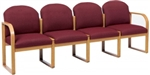 Healthcare Reception: Contour 4-Seat Round Back Sofa