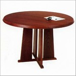 42in Round Tapered Base Conference Table