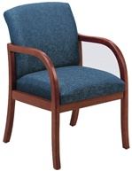 Weston Series: Guest Chair - Healthcare Vinyl - W1301G5