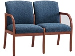 Weston Series: 2 Seat Sofa - Healthcare Vinyl - W2301G5