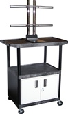 "Endura Series Plasma/LCD TV Cart - 48""H"
