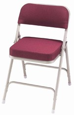 "2"" Premium Padded Folding Chair"