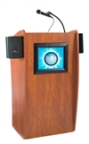 The Vision: Floor Lectern with Digital Display and Sound - 612-S