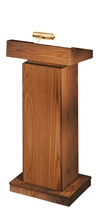 Orator Manual Height Adjustable Floor Lectern - 810