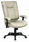 Pillow Top Deluxe High Back Executive Leather Chair