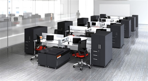 Benching Systems And Open Plan Available At Office
