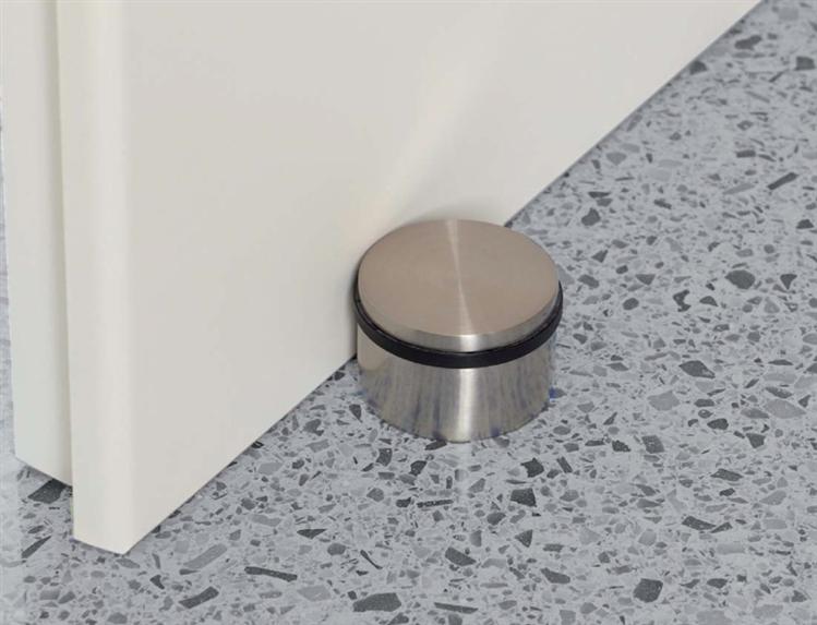 No Drilling Required Floor Mount Door Stops