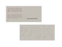 CMA #10 Double Window Envelope