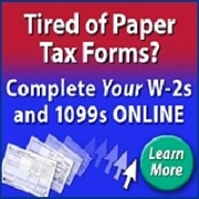 E-File W-2's and 1099's Online
