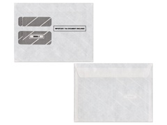 W-2 Gummed Double Window Envelopes