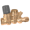"Caleffi 116 ThermoSetter™ ½"" NPT female Adjustable thermal balancing valve. 116140A"