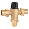 "Caleffi 1 ½"" sweat adjustable thermostatic mixing valve, 523188A"