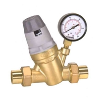 "Caleffi ¾"" sweat union automatic filling valve, 535059A"