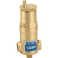 "Caleffi ¾"" NPT female Discal Compact Air separator with ½"" service check valve,551003AC"