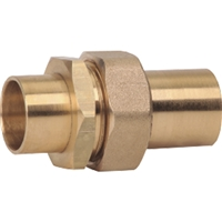 "Caleffi ¾"" sweat union In-line flow check valve NS51059"