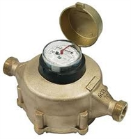 "Badger 1/2"" Bronze (RCDL) positive displacement meters are one of the most cost effective methods in metering industrial fluids. (Low Lead)"