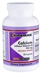 Calcium 200 mg without Vitamin D / Kirkman / 120 caps