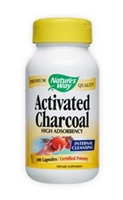 Activated Charcoal 560 mg / Nature's Way / 100 caps.