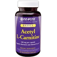 Acetyl L-Carnitine 500 mg / MRM / 60 caps.