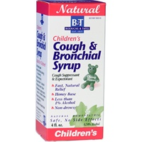 Children's Cough & Bronchial Syrup / Boericke & Tafel / 4 oz