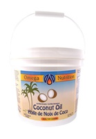 Coconut Oil for Cooking / Omega Nutrition / 112 oz (7 lbs)
