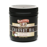 Extra Virgin Coconut Oil / Barlean's / 16 oz