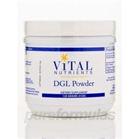 DGL Powder / Vital Nutrients / 120 grams.